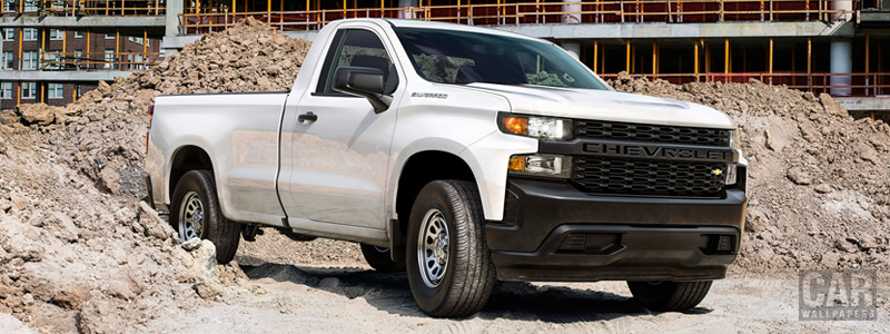 Cars wallpapers Chevrolet Silverado Work Truck Regular Cab - 2018 - Car wallpapers