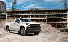 Cars wallpapers Chevrolet Silverado Work Truck Regular Cab - 2018