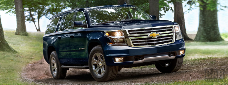 Cars wallpapers Chevrolet Suburban Z71 - 2017 - Car wallpapers