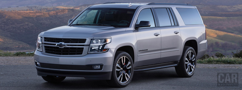 Cars wallpapers Chevrolet Suburban RST - 2018 - Car wallpapers