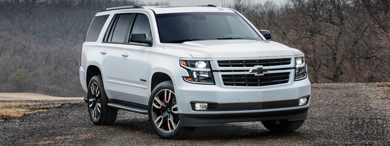 Cars wallpapers Chevrolet Tahoe RST - 2017 - Car wallpapers