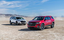 Cars wallpapers Chevrolet Traverse Redline - 2018