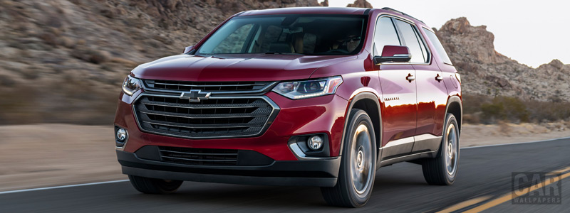 Cars wallpapers Chevrolet Traverse RS - 2018 - Car wallpapers