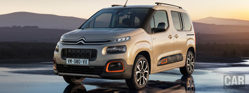 Cars wallpapers Citroen Berlingo Multispace XTR - 2018 - Car wallpapers