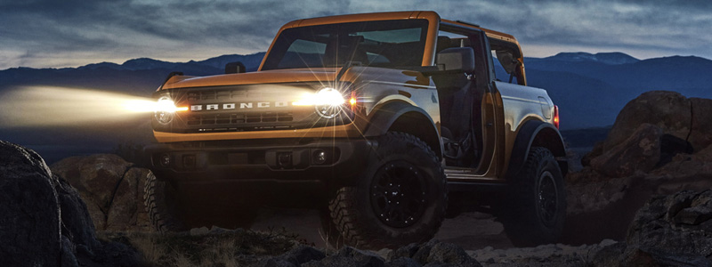 Cars wallpapers Ford Bronco 2-Door Black Diamond Sasquatch Package - 2020 - Car wallpapers