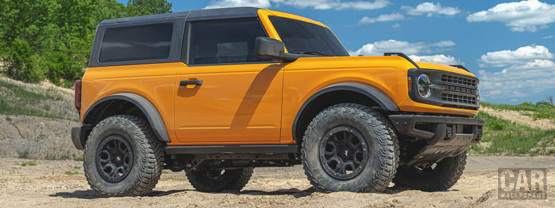 Cars wallpapers Ford Bronco 2-Door First Edition - 2020 - Car wallpapers
