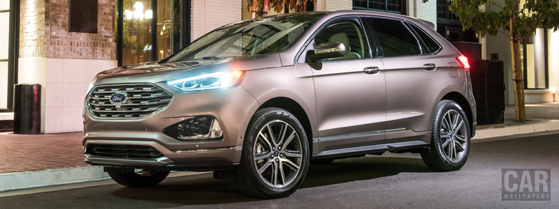 Cars wallpapers Ford Edge Titanium Elite - 2018 - Car wallpapers