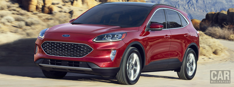Cars wallpapers Ford Escape Hybrid SE - 2019 - Car wallpapers