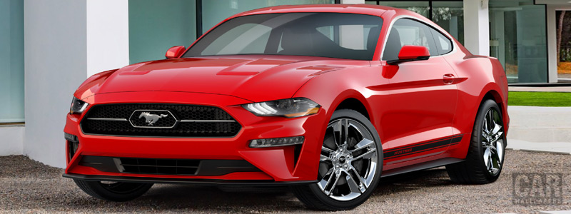 Cars wallpapers Ford Mustang Pony Package - 2017 - Car wallpapers