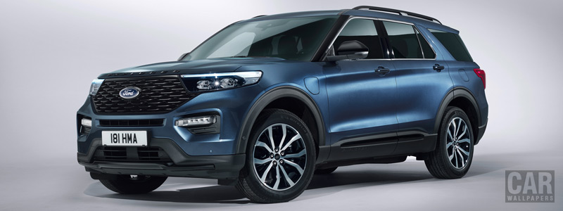 Cars wallpapers Ford Explorer Plug-in Hybrid ST-Line - 2019 - Car wallpapers