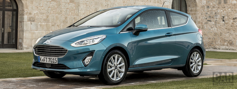 Cars wallpapers Ford Fiesta Titanium 3door - 2017 - Car wallpapers