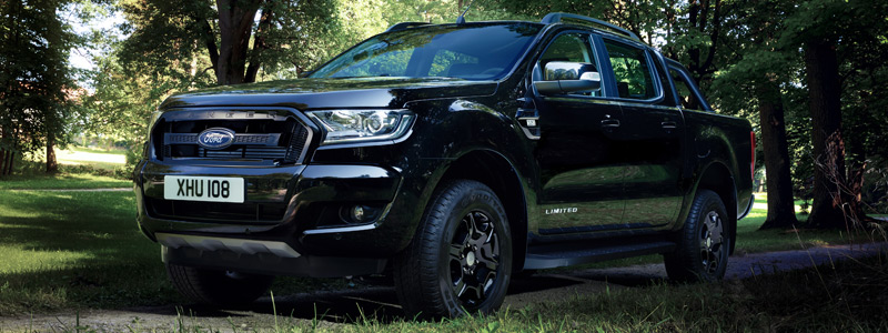 Cars wallpapers Ford Ranger Limited Black Edition Double Cab - 2017 - Car wallpapers